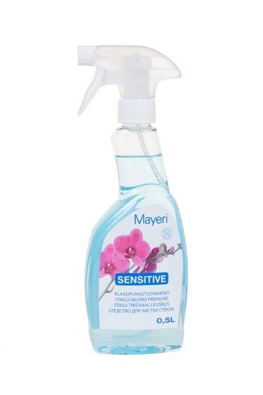 Спрей для чистки стекол Mayeri Sensitive 500ml