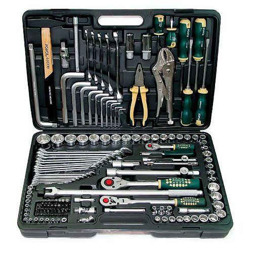 FORCE Набор инструментов 142 предмета № 41421 шестигранный