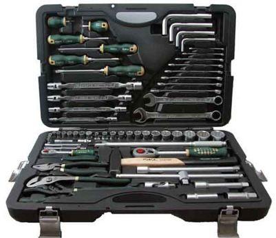 FORCE Набор инструментов 65 предметов F4653-7 SL 6гр.