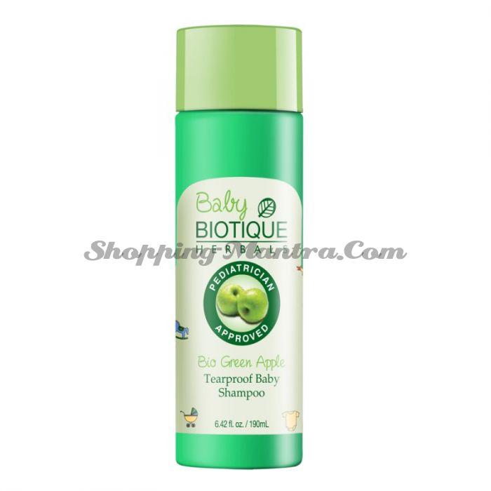 Биотик Зеленое Яблоко детский шампунь без слез | Biotique Bio Green Apple Tearproof Baby Shampoo