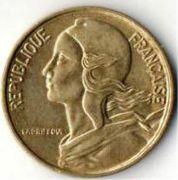 5 сентим. Франция. 1971 год.