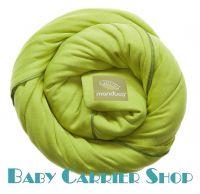 Трикотажный слинг-шарф для новорожденного MANDUCA Sling Lime [Мандука, органический хлопок, Лайм]