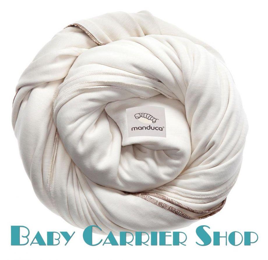 Трикотажный слинг-шарф для новорожденного MANDUCA Sling Ecru [Мандука, органический хлопок, Бежевый]
