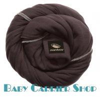 Трикотажный слинг-шарф для новорожденного MANDUCA Sling Chocolate [Мандука, органический хлопок, Коричневый]