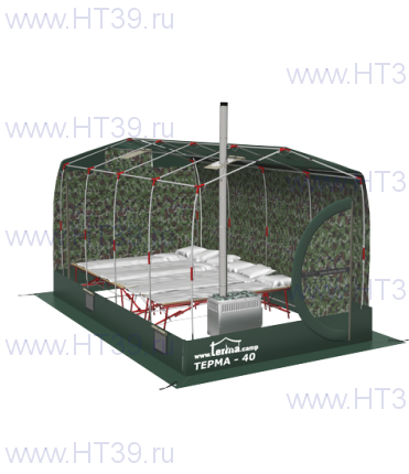 Палатка - мобильная баня Терма - 42