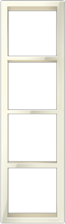 "Четырехпостовая  вертикальная рамка бежевая CGSS ""Практика"" PL-VP104-BGG"