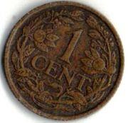 1 цент. 1926 год. Нидерланды.