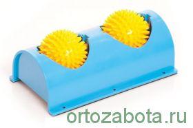 Мячи игольчатые Тривес М-404 на подставке для ног