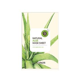 The saem Natural Aloe Mask Sheet 21ml -  Маска тканевая с экстрактом алое вера