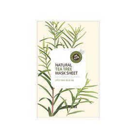 The saem Natural Tea Tree Mask Sheet 21ml - Маска тканевая с экстрактом чайного дерева