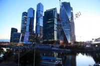 Москва-Сити на берегу Москва-реки