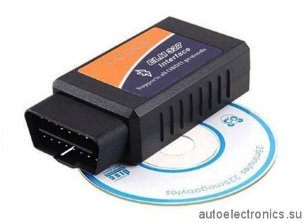 ELM327 Bluetooth OBD II - адаптер с поддержкой CAN (Bluetooth V2.1 OBD2 CAN-BUS Diagnostic Scanner)
