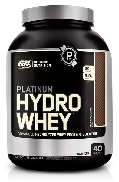 OPTIMUM NUTRITION Platinum HydroWhey 3.5 lb (1,59кг.) - скл2
