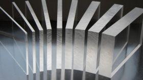 Стекло экструзионное прозрачное Акрима 72, 10мм