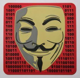 Anonymous (анонимус) Hacktivism & activism шеврон на велкро