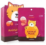 Berrisom animal mask Collagen CAT - Маска тканевая с морским коллагеном