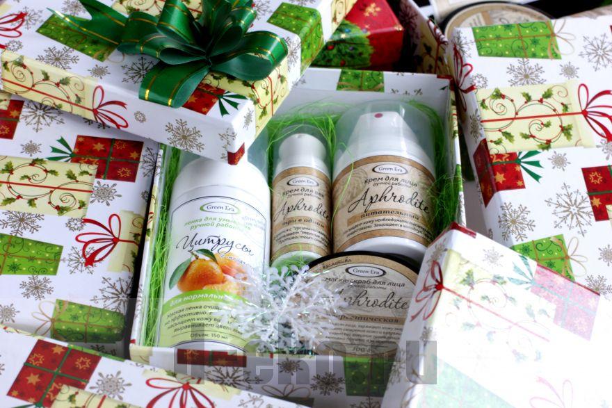Подарочный набор новогодний в коробке