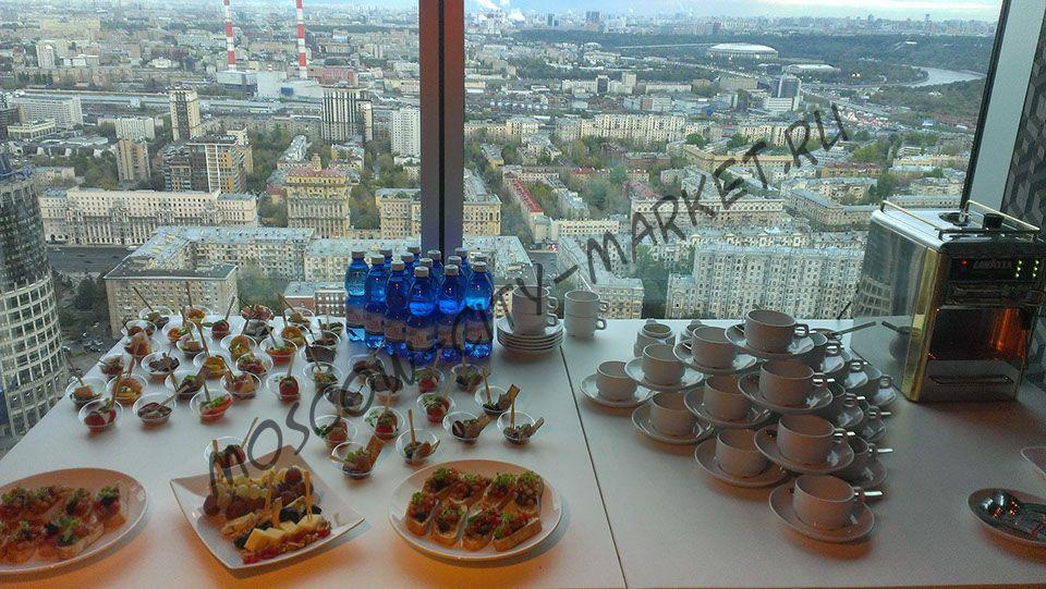 Праздник в Loft-Imperia-Sky на 43 этаже