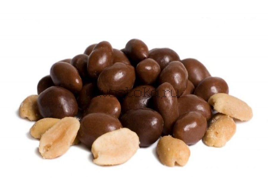 Арахис в темном шоколаде 100гр