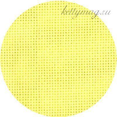 Канва упак.40*50см цв.желтый . Белоруссия. Каунт в ассортименте