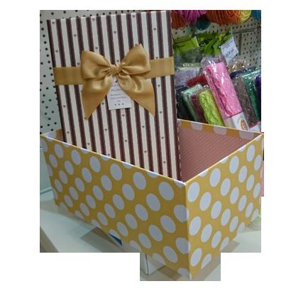 Подарочная коробка малая