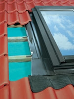 Оклады к распашным мансардным сервисным окнам ESW EZW-P