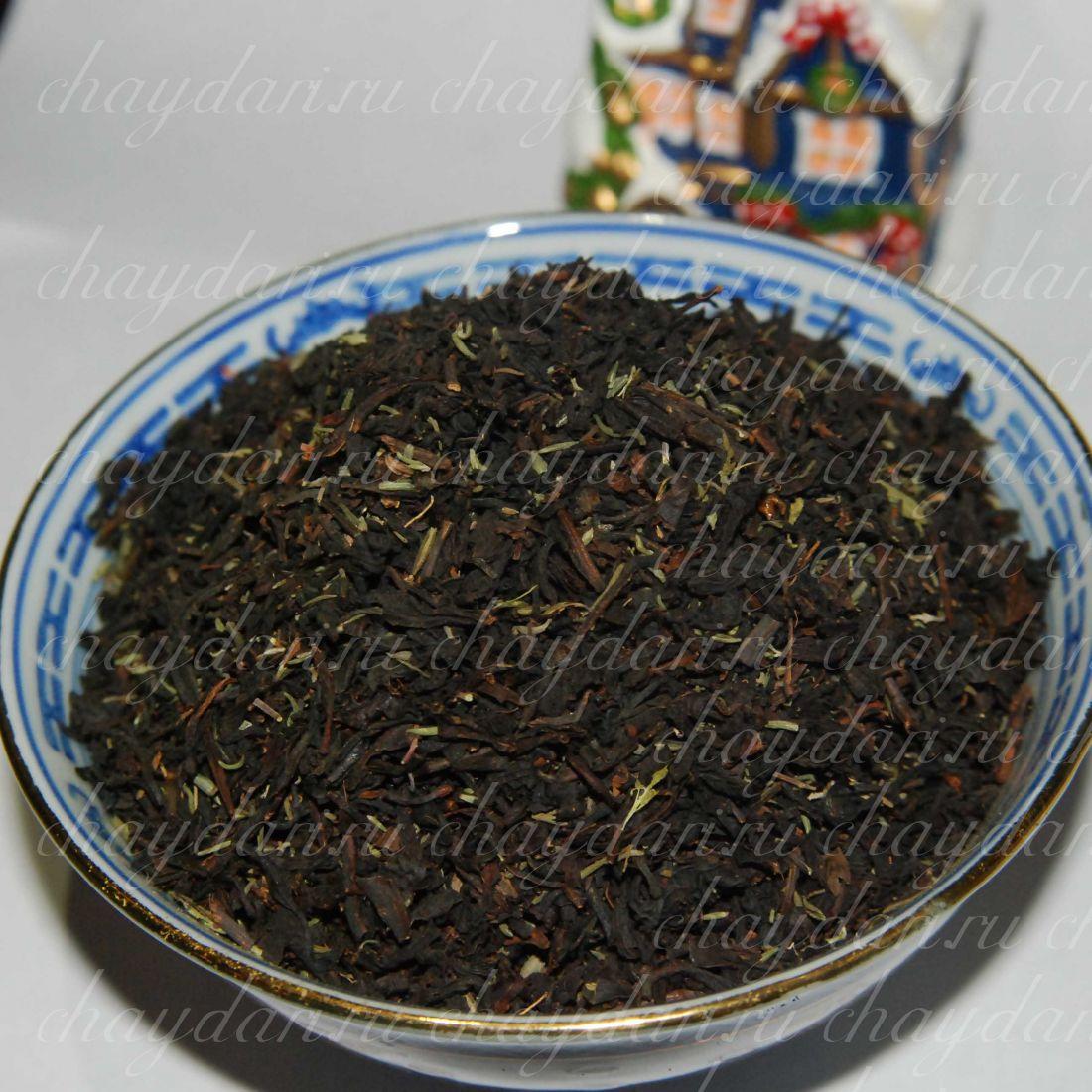 Черный чай с чабрецом (50 г.)
