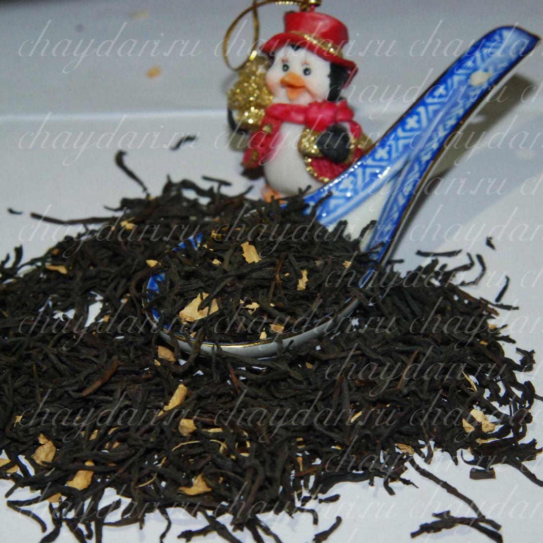 Черный чай с имбирем (50 г.)