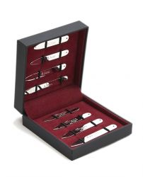 Подарочный набор для мужчин | набор вставок косточек для воротника