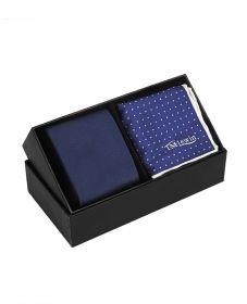 Подарочный набор для мужчин | галстук + платок для пиджака