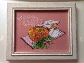 Схема для вышивки крестом Чайная церемония. Отшив