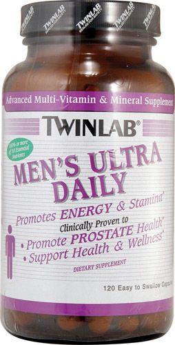 Twinlab - Men's Ultra Multi Daily (120 капс)