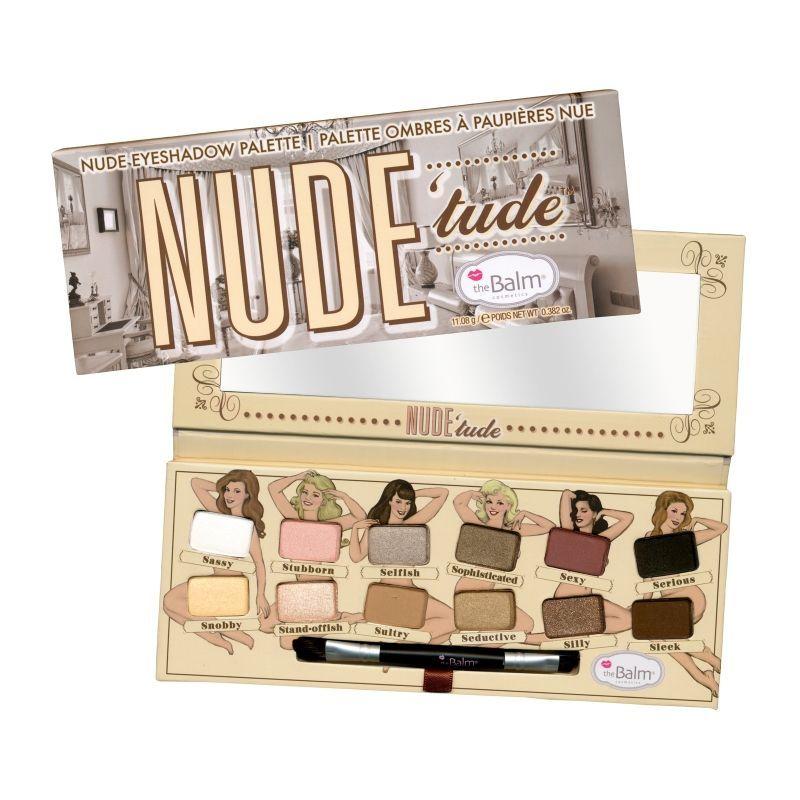 theBalm Nude Tude - Палетка теней