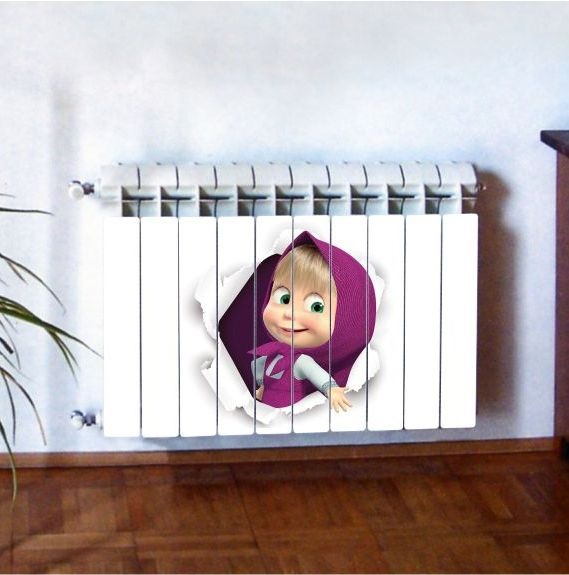 """Фотодекор для радиатора отопления """"Дети 0001"""""""
