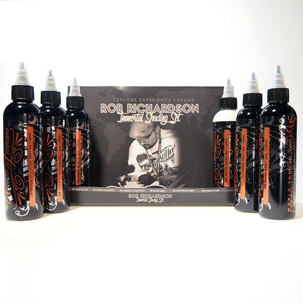 World Famous ROB RICHARDSON 5 BOTTLE SHADING SET 4OZ