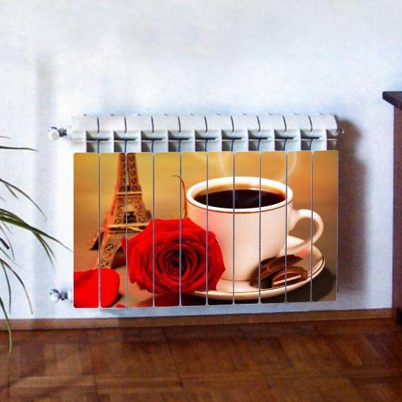 """Фотодекор для радиатора отопления """"Кухня 0006"""""""