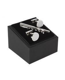 Подарочный набор для мужчин | запонки+застежка для галстука