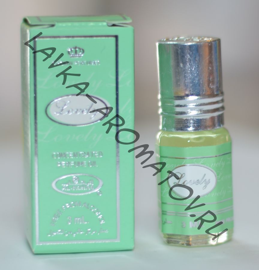 Миск Lovely Al Rehab 3 мл упаковка 12 шт (64руб/шт)