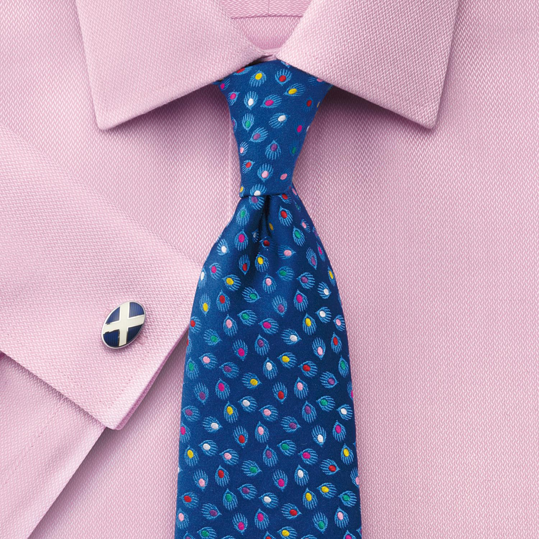 cb6cc0e361a Мужская рубашка под запонки Англия купить Москва розовая Charles Tyrwhitt  не мнущаяся Non Iron сильно приталенная Extra Slim Fit
