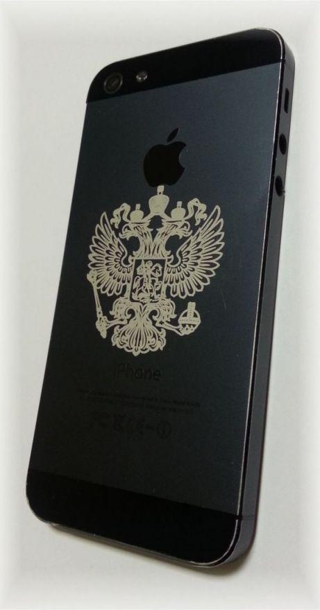 Лазерная гравировка на телефонах, планшетах