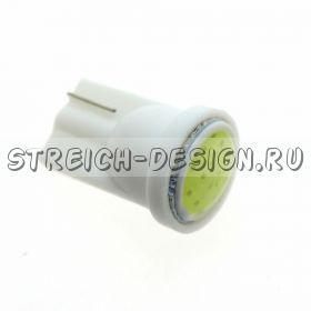 Светодиодная лампа T10 COB белая 12V