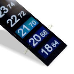 Термометр самоклеющийся Full Range LCD Thermometer