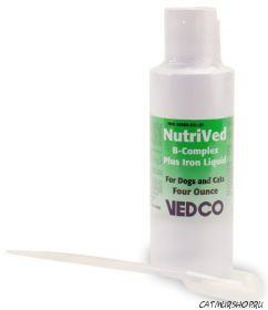 NutriVed - комплекс витаминов группы В + железо + медь   (120 мл.)