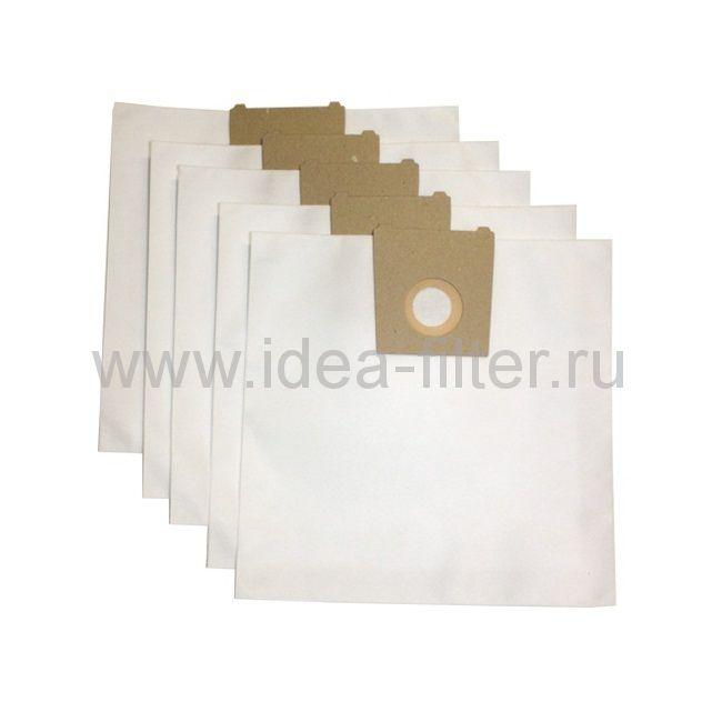 IDEA K-05 - мешки синтетические для пылесоса KARCHER 6100, 6200, 6300 - 5 штук