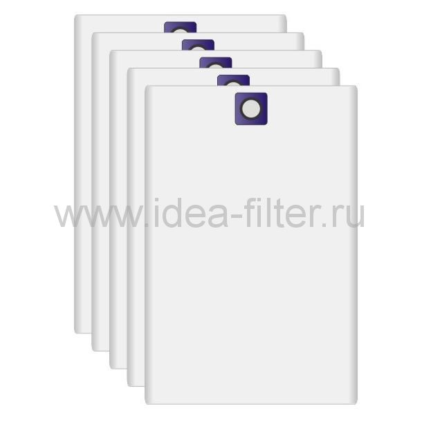 IDEA C-21 мешок для пылесоса SOTECO 633 5 штук синтетический (95 L)
