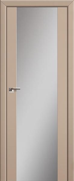Межкомнатная дверь Профильдорс 8U Капучино, зеркальный триплекс