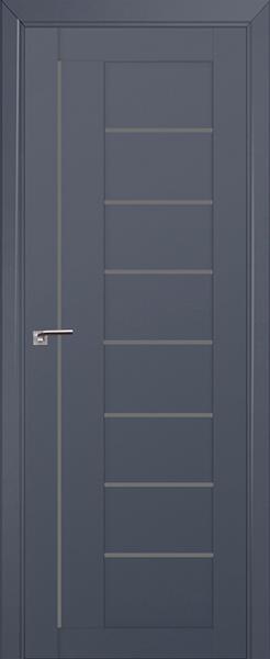 Межкомнатная дверь Профильдорс 17U Антрацит