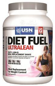 USN Diet Fuel 1kg  Заменитель питания с клетчаткой, витаминами и минералами