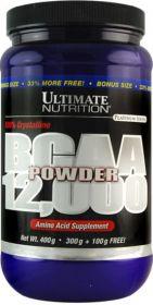 BCAA Powder 12000 (Ultimate Nutrition) 400 g Без вкусовых добавок