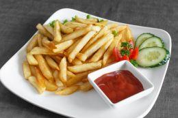 Картофель-фри+соус бесплатно